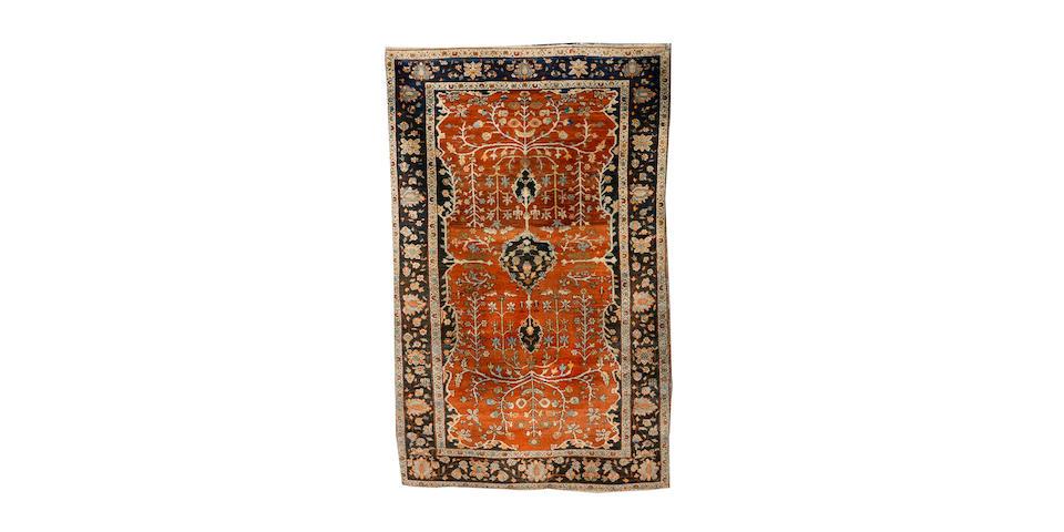 A Sarouk rug West Persia, 208cm x 134cm