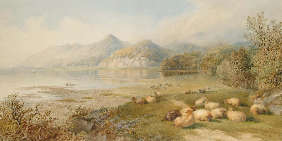 Cornelius Pearson (British, 1805-1891) and Thomas Francis Wainewright (British, 19th Century) Cattle