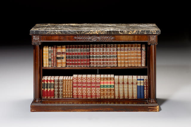 A George IV rosewood Side Cabinet,