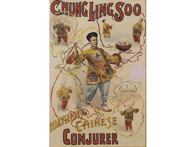MAGIC CHUNG LING SOO. Marvellous Chinese Conjurer