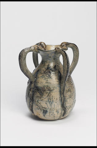 Martin Brothers, 1892 A Stoneware Vase