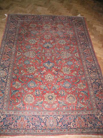 A Kashan rug Central Persia, 198cm x 133cm