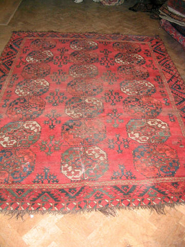 An Ersari carpet West Turkestan, 251cm x 198cm