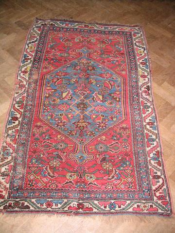Two Bidjar rugs Persian Kurdistan, 158cm x 102cm (2)