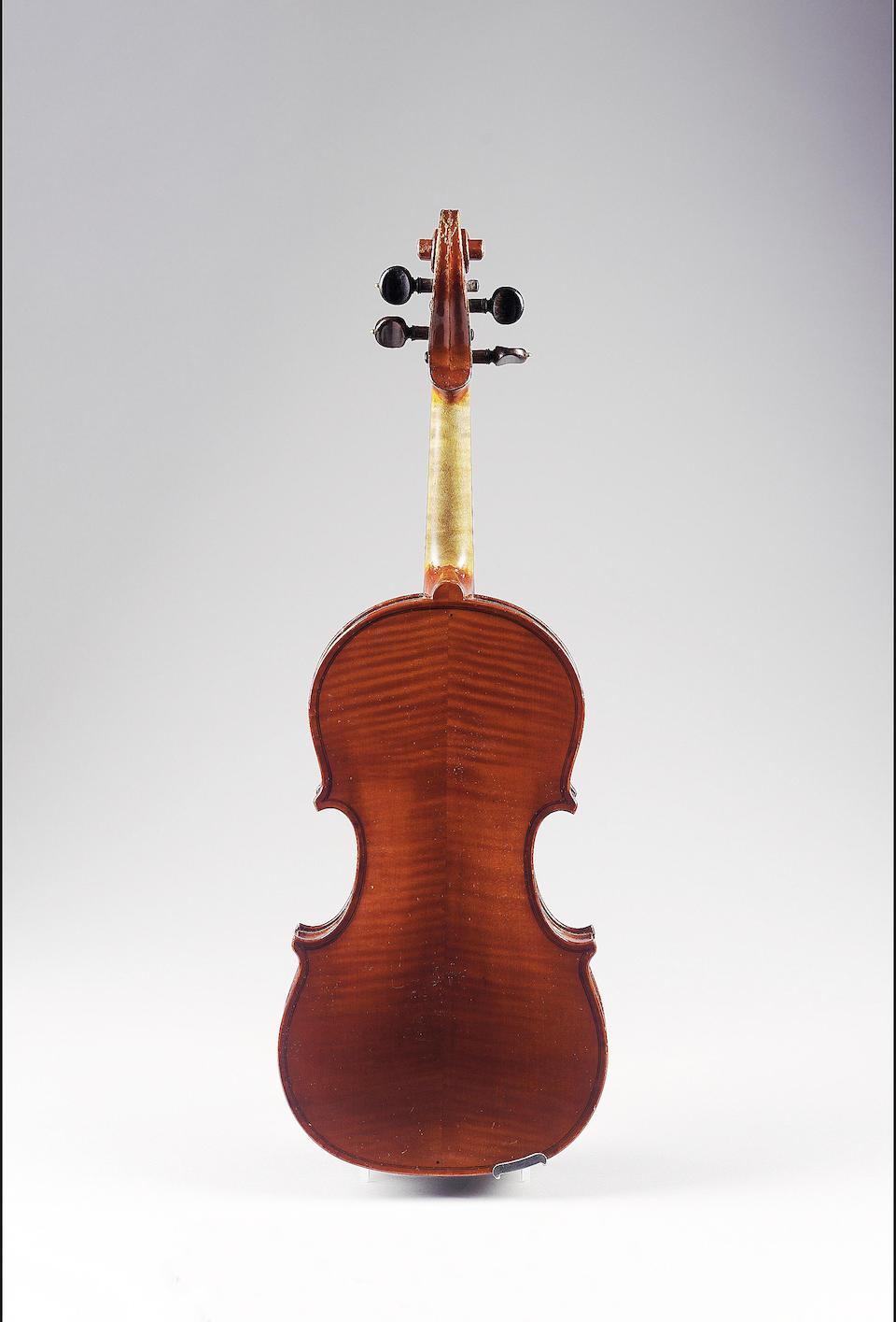 An Italian Violin of quality ca 1920 attributed to Francesco Guadagnini ,Turin