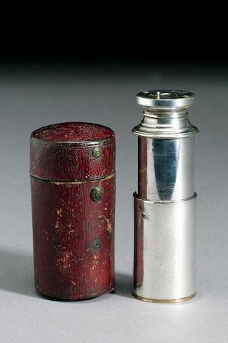 A Jesse Ramsden 3/4-Inch Monocular, English, late 18th century,
