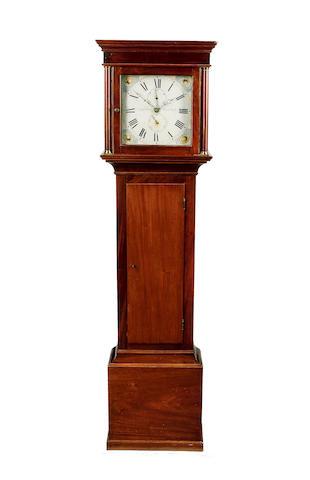 An early 19th Century mahogany 30 hour longcase clock Lasseter, Arundel