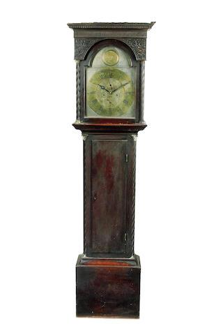 A late 18th century mahogany longcase clock John Palerson, Paisley