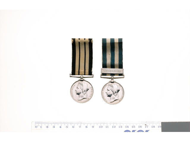 A rare Tel-El-Kebir casualty pair to Private A.Michie, Royal Highlanders,