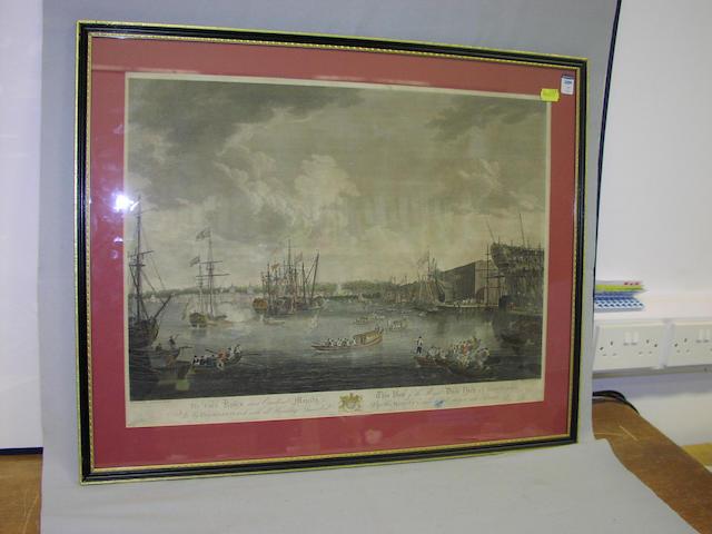 After R Paton & J Mortimer 80 x 65cm, framed. (2)