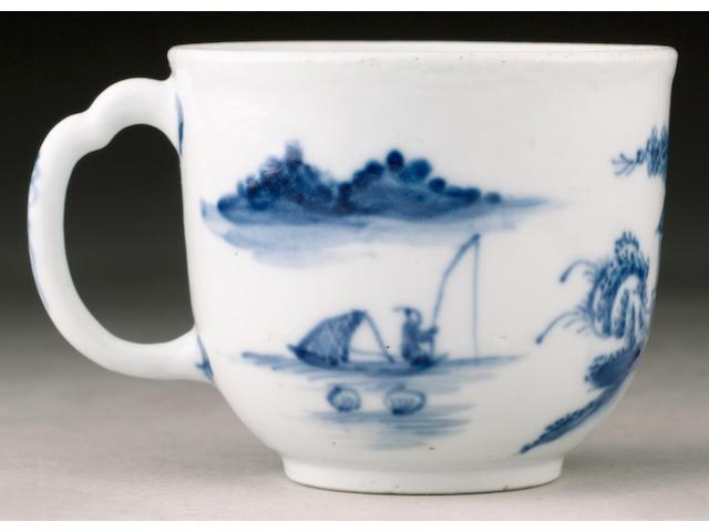 A very rare Lund's Bristol coffee cup circa 1750