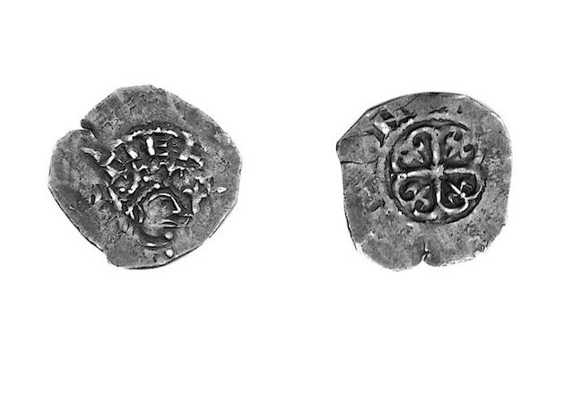Stephen (1135-1154),  Watford type Penny of Lincoln, GLADEWINE, style C, large letters, no inner circles (S.1278).