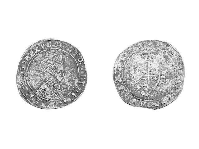 - base issue Shilling of Southwark, mm.lis, 1549 (S.2466b).