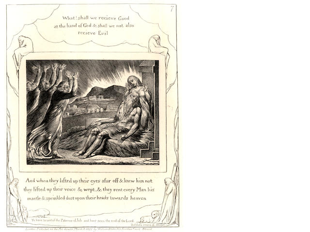 BLAKE (WILLIAM) Illustrations of the Book of Job