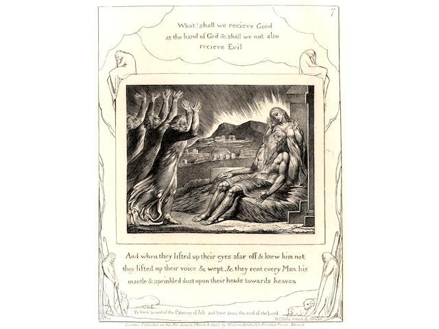 BLAKE (WILLIAM) Illustrations of the Book of Job