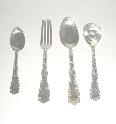 An American part canteen of cutlery,
