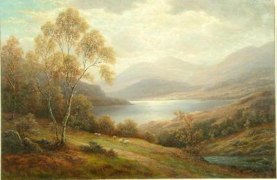 William Mellor (1851-1931) 'Ullswater'; 'Derwentwater' each 48.5 x 73.5cm