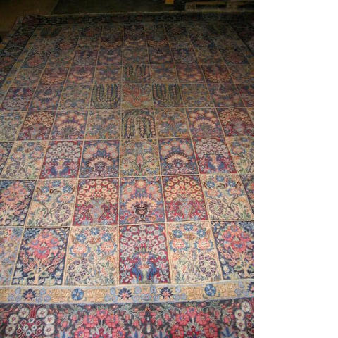 A Yazd carpet South East Persia, 420cm x 295cm