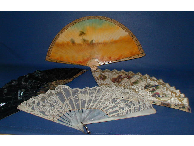 A collection of fans,