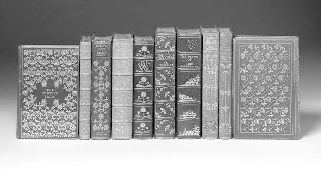 GALSWORTHY (JOHN) The Plays, 1929; The Forsythe Saga, 1928--PRIESTLEY (J.B.) The Good Companions, [1