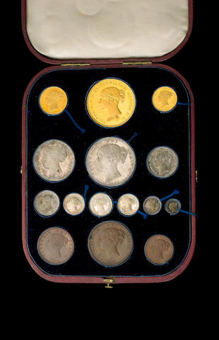 Victoria (1837-1901), Proof Set 1839.
