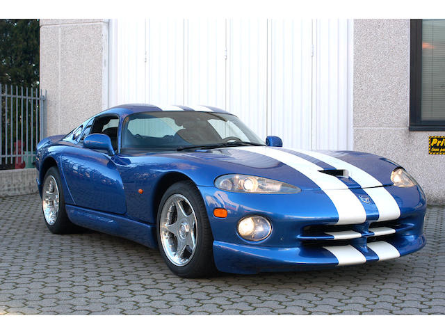 1997 Chrysler Viper GTS Coupe  Chassis no. A042870GE271197