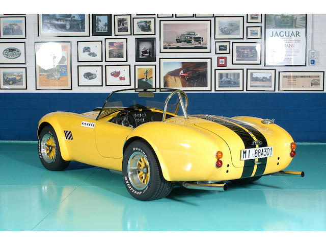 6,195 miles from new,1992 AC Cobra MKIV Lightweight Roadster  Chassis no. AKL 1403 Engine no. MF 118690