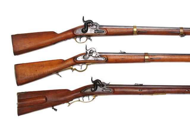 A Saxon 13-Bore Percussion Artillery Carbine