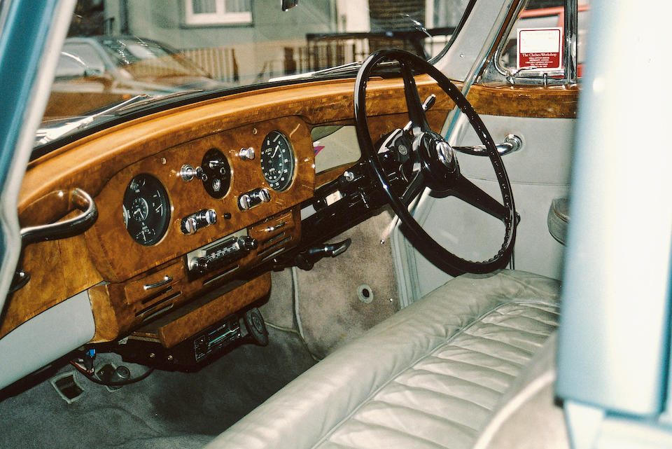 1958 Rolls-Royce Silver Cloud Saloon Coachwork by Hooper & Co  Chassis no. ALC 21 Engine no. C20A