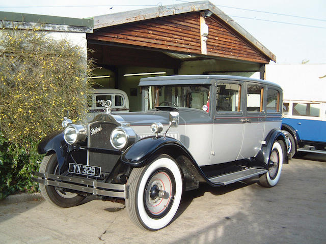 1928 Packard Six Limousine Coachwork by Packard  Chassis no. 162069R Engine no. 163187