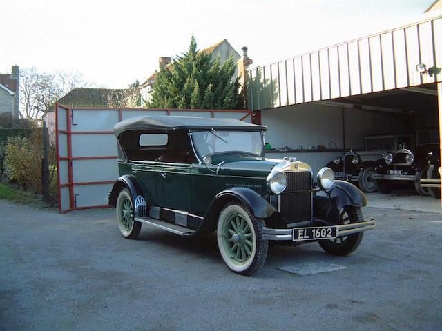 1928 Essex Super Six Phaeton  Chassis no. 927269