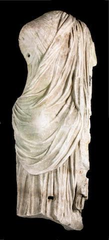 A Roman marble statue of Aphrodite