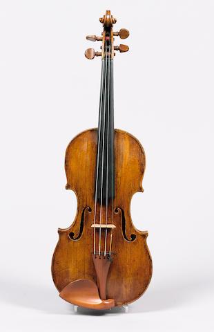 A fine and rare Italina Violin by Pietro Dalla Costa Treviso 1747