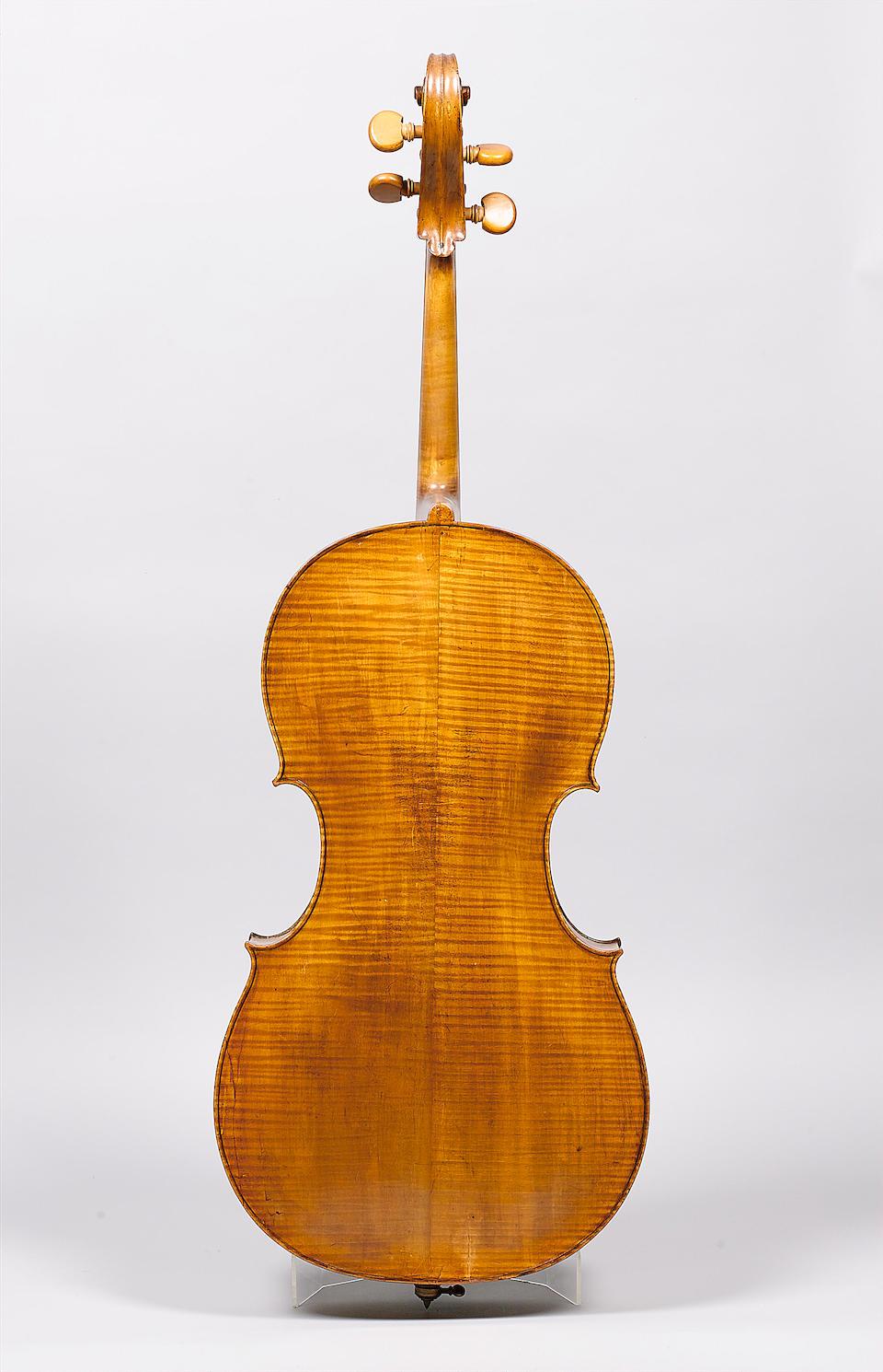 A good English Violoncello by Thomas Smith London 1769