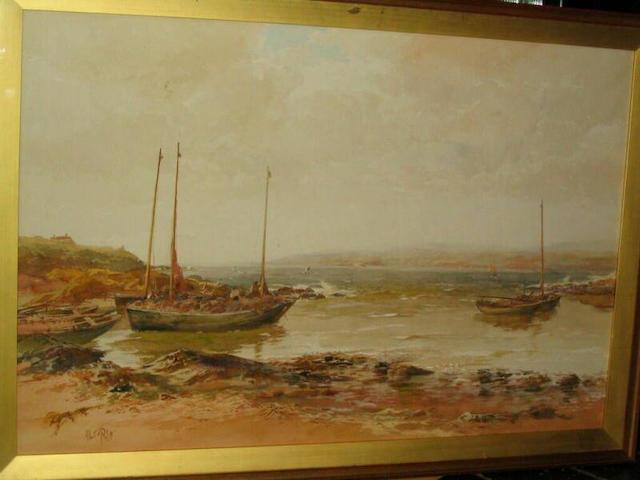 Albert Pollitt 'Galway Bay, Ireland', 57 x 86cm.