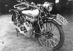 1923 Brough Superior 6.5hp 748cc Mark II  Frame no. 324 Engine no. 45661