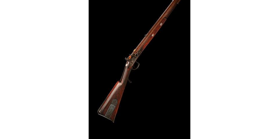 Flintlock Rifle By Tatham