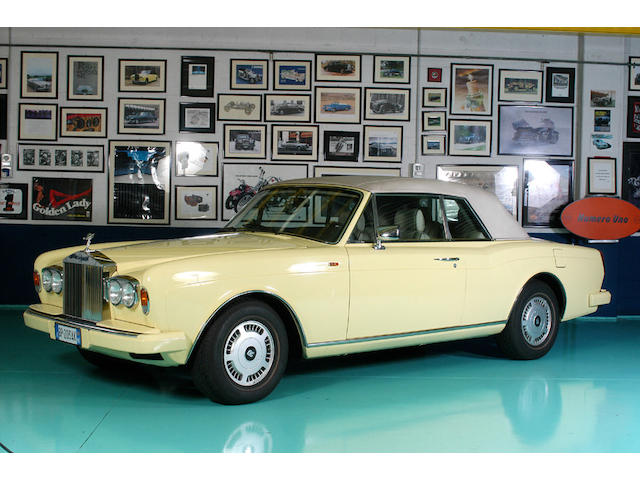 1993 Rolls-Royce Corniche Turbo Convertible RCX 50002
