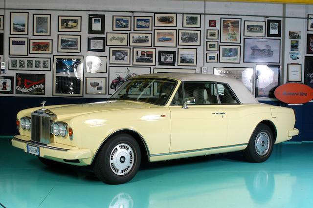 1993 Rolls-Royce Corniche Turbo Convertible  Chassis no. RCX 50002