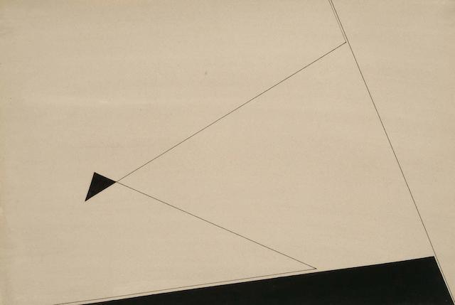Victor Anton (British, 1909-1980) Untitled 38 x 55.5cm.