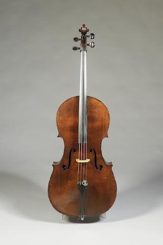 A very fine English Violoncello London, 1855 (?)