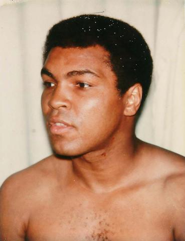 Andy Warhol (American, 1928-1987) Muhammad Ali