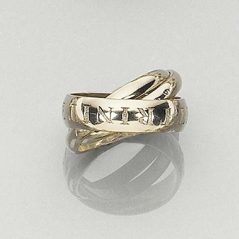 A Limited Edition Russian Wedding Ring by Cartier