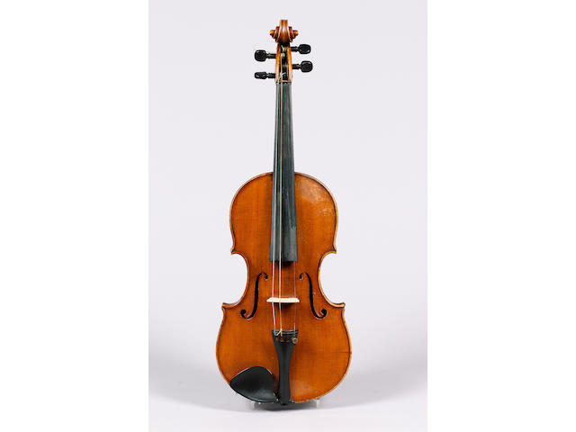 A fine and handsome Italian Violin by Giovanni Schwarz, Venice 1905