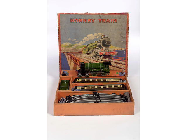 "Hornby ""0"" gauge clockwork,"