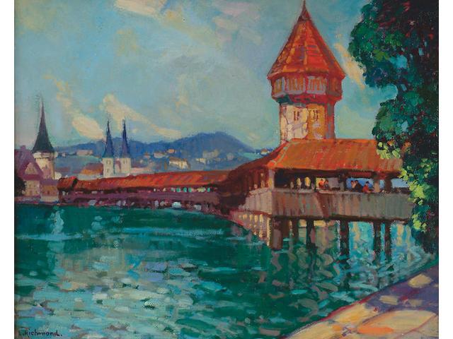 Leonard Richmond (1889-1965) 'Lucerne'