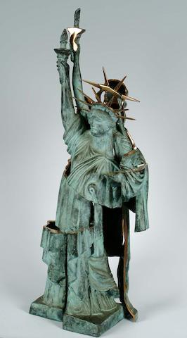 Fernandez Arman (American/French, b.1928) Statue of Liberty height 74cm.