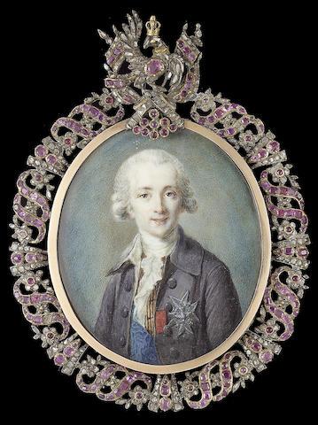 French School, Joseph-Hyacinthe-François de Paule de Rigaud, Comte de Rigaud, Comte de Vaudreuil (17