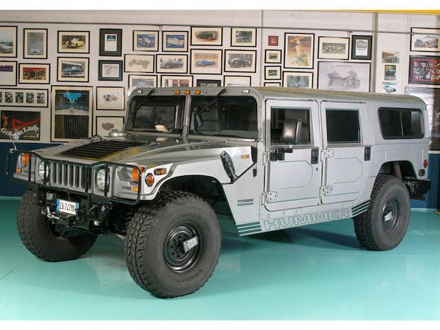 1999 Hummer H1 Wagon  Chassis no. 137ZA8437XE185056
