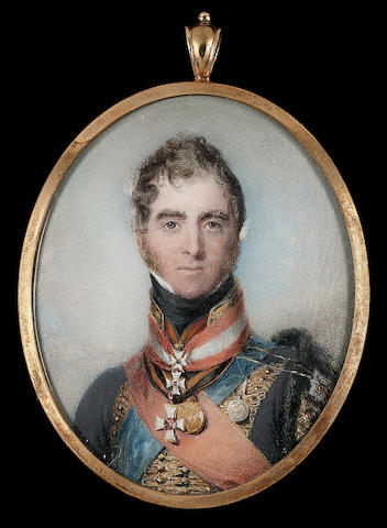 John (Inigo?) Wright, Henry Paget, 1st Marquess of Anglesey (1768-1854), wearing the uniform of the